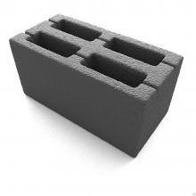 Керамзитобетонный блок 390х120х188
