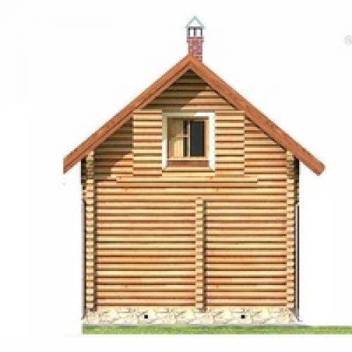 Баня из бруса «Краснодар»: цена, фото и коплектация | 500x500